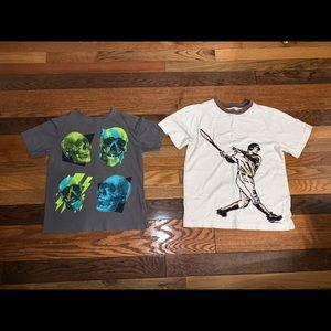 Boy crazy 8 and children's place T-shirt's 7/8